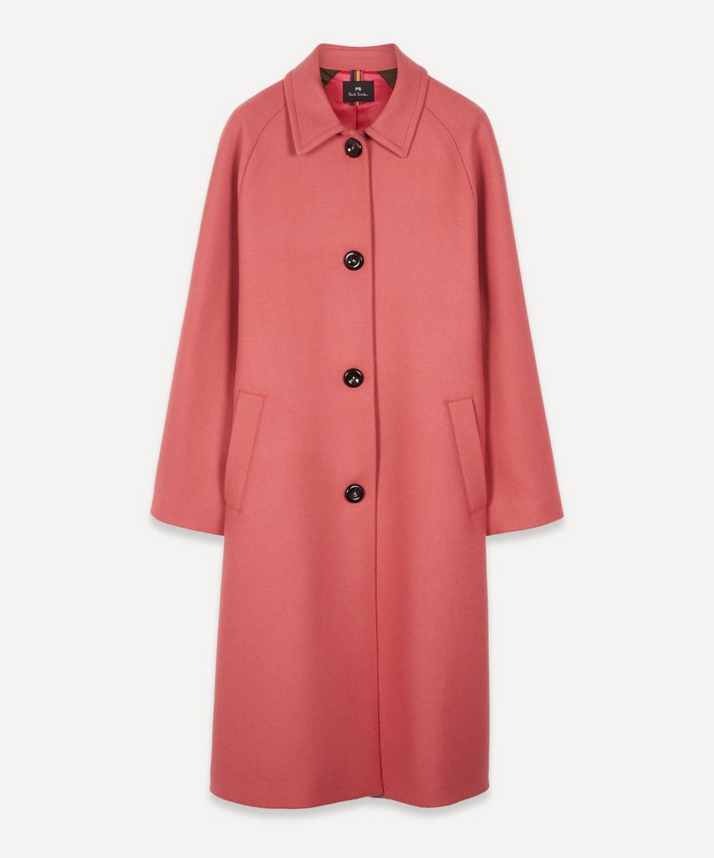 PS Paul Smith - Car Cashmere-Wool Coat