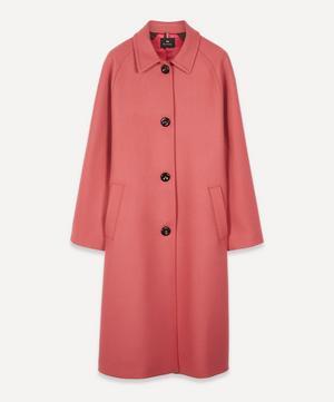 Car Cashmere-Wool Coat