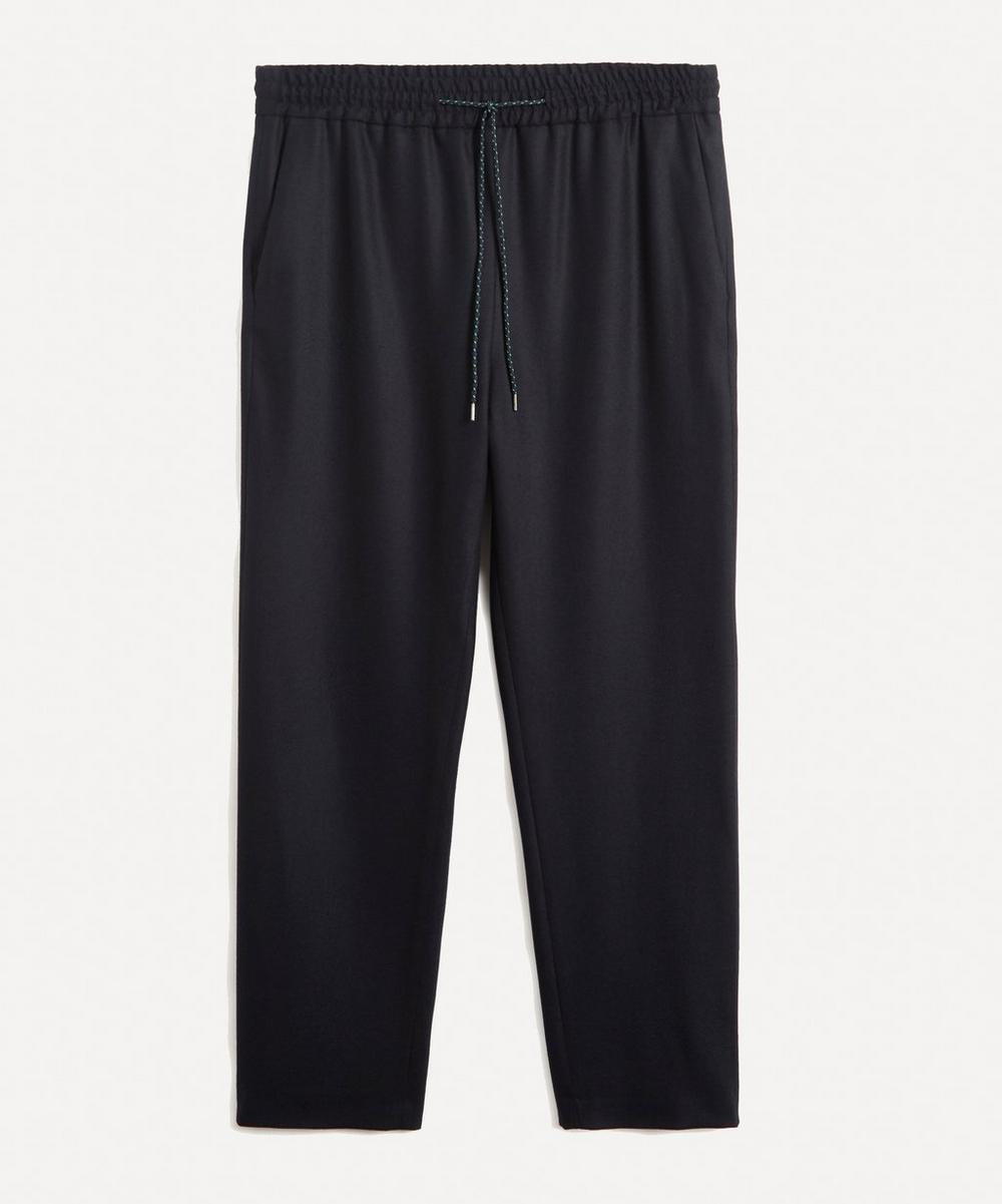 Paul Smith - Wool Flannel Drawstring Trousers