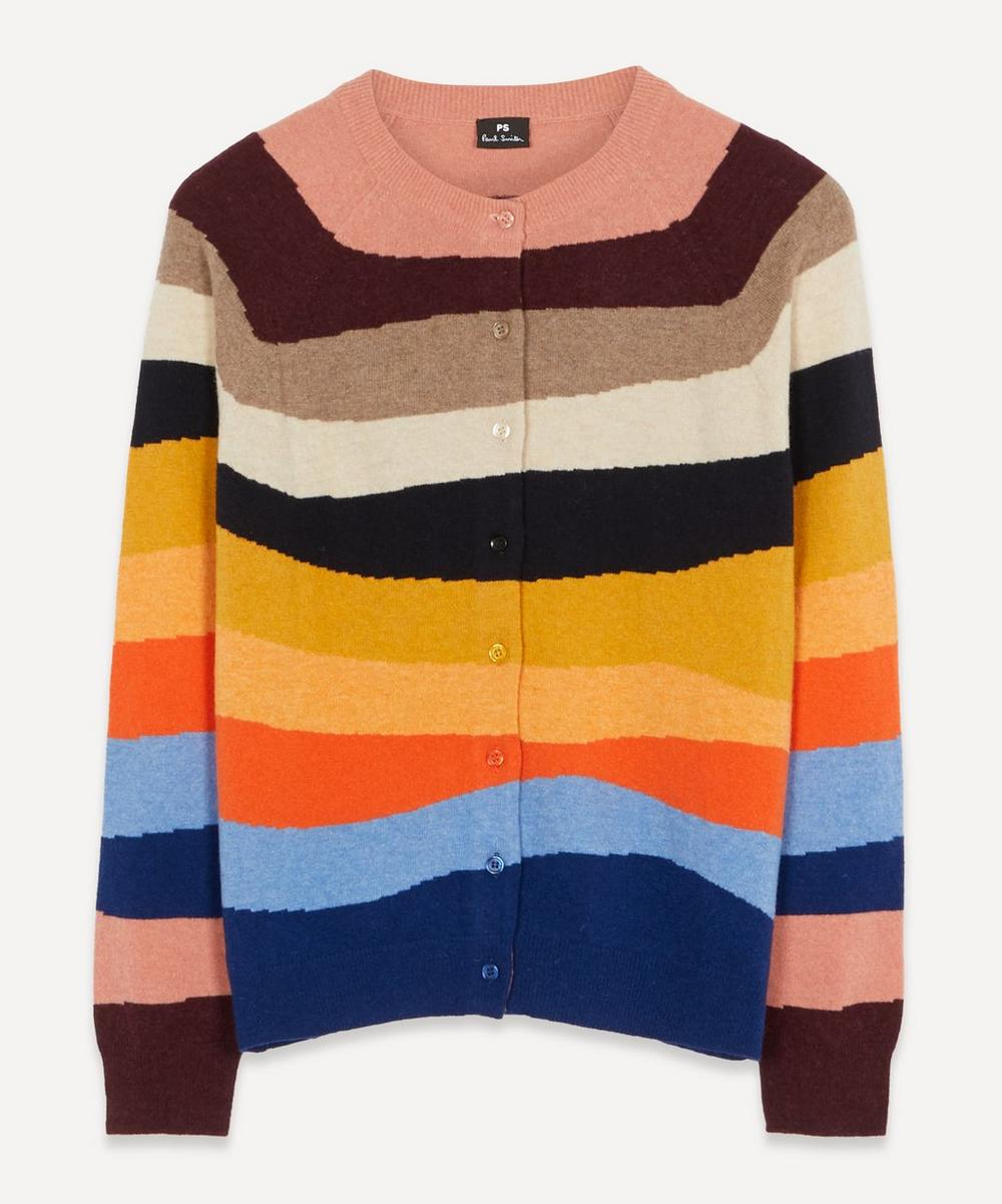 PS Paul Smith - Mountain Stripe Cardigan