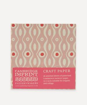 Assorted Craft Paper Packet of 36 Sheets