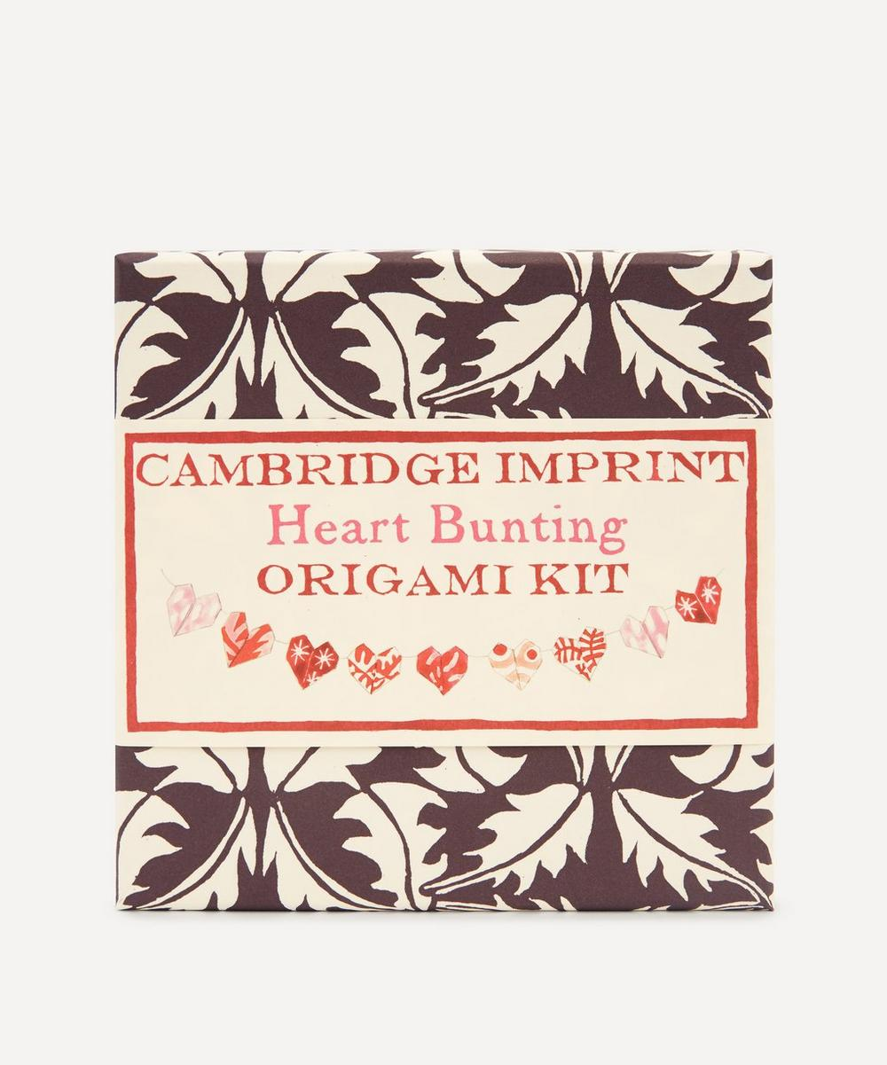 Cambridge Imprint - Origami Heart Bunting Kit
