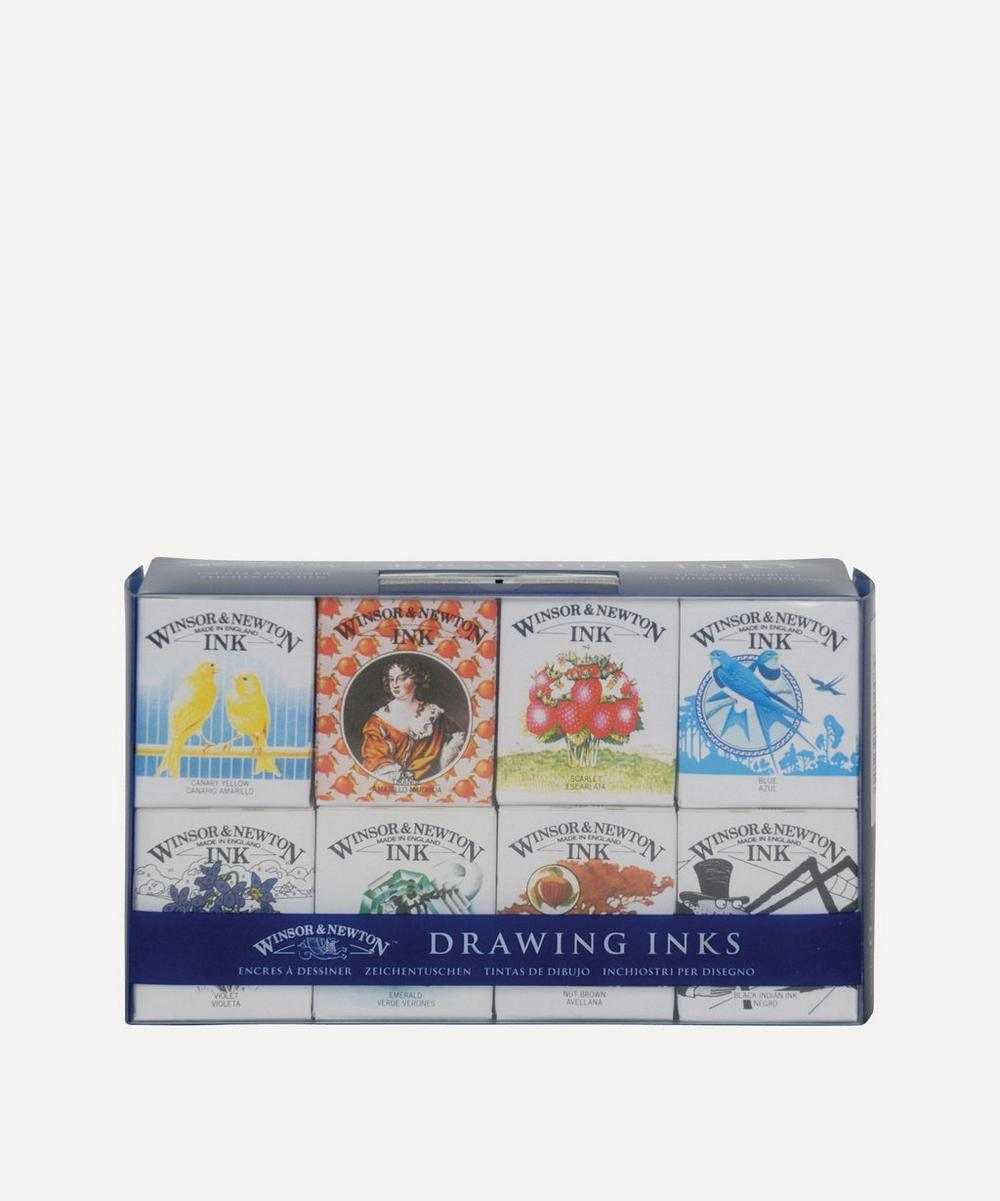 Winsor & Newton - Henry Collection Drawing Inks Pack of 8