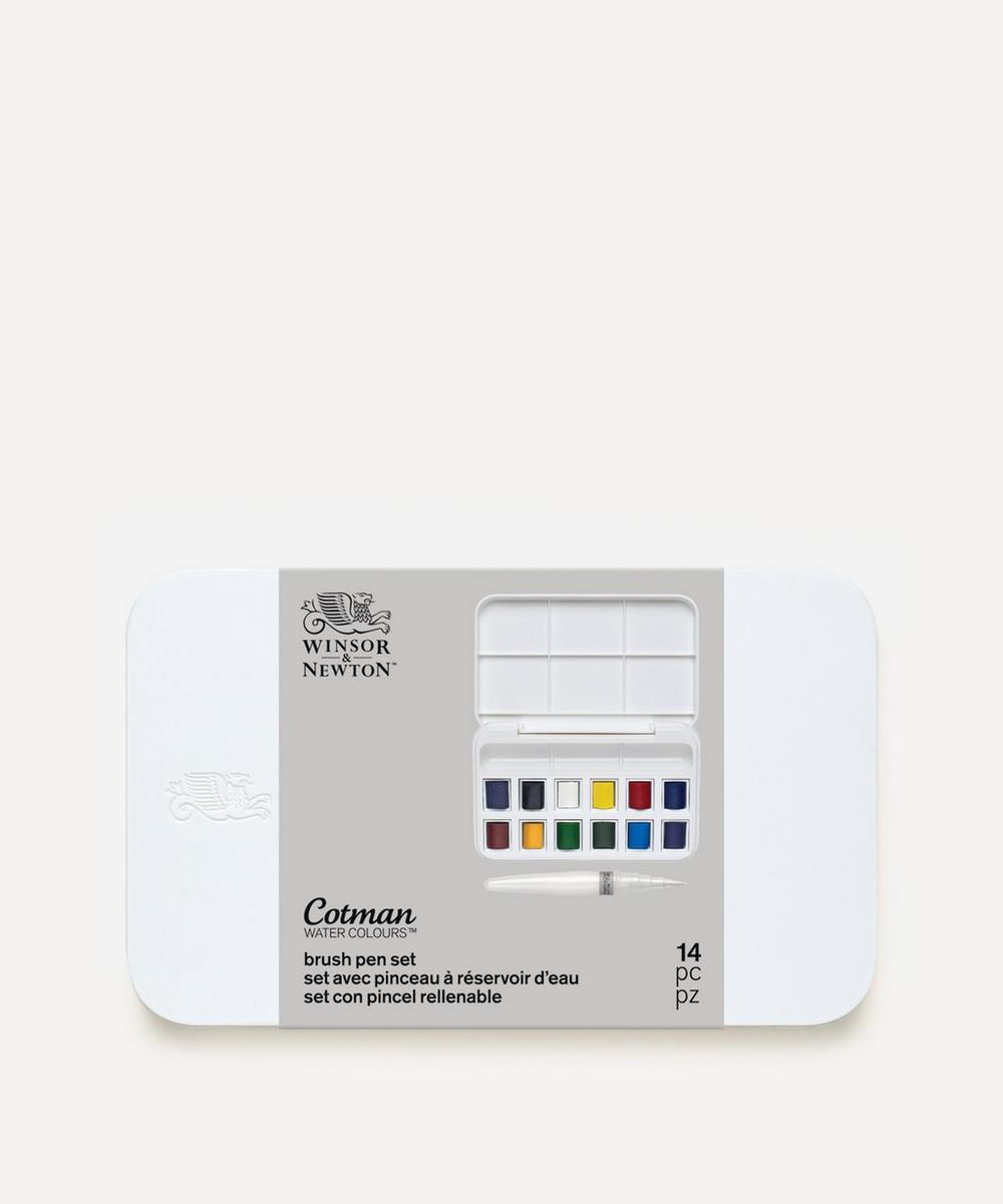 Winsor & Newton - Cotman Brush Pen Set