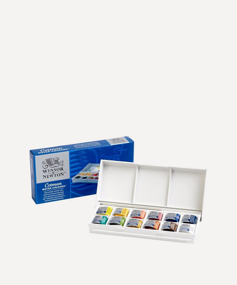 Winsor & Newton - Sketchers' Pocket Box