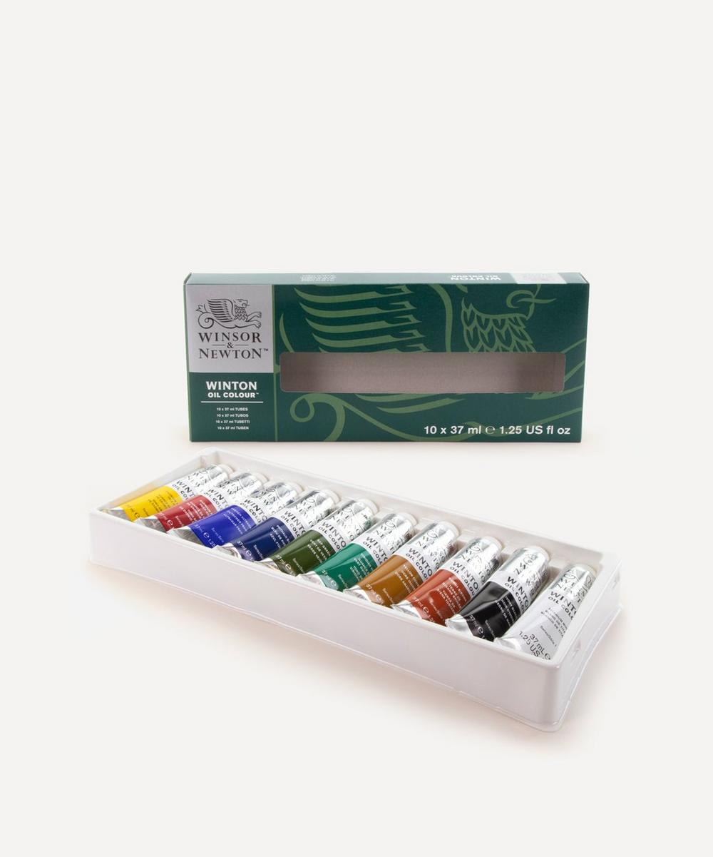 Winsor & Newton - Winton Oil Colour Paints Starter Set of 10 37ml