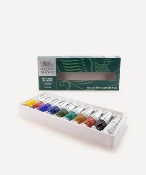Winton Oil Colour Paints Starter Set of 10 37ml