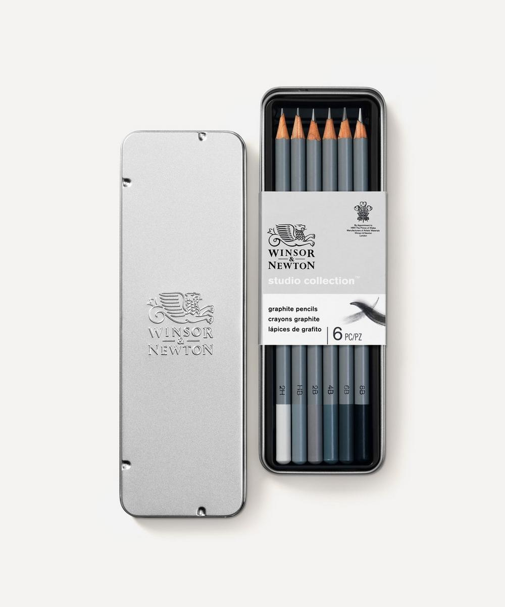 Winsor & Newton - Studio Collection Graphite Pencils Set of 6