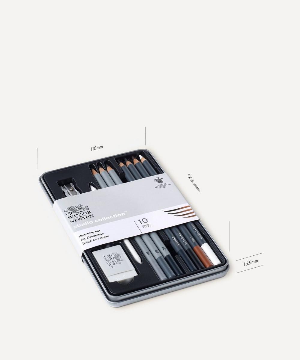 Winsor & Newton -  Studio Collection 10 Piece Sketching Set