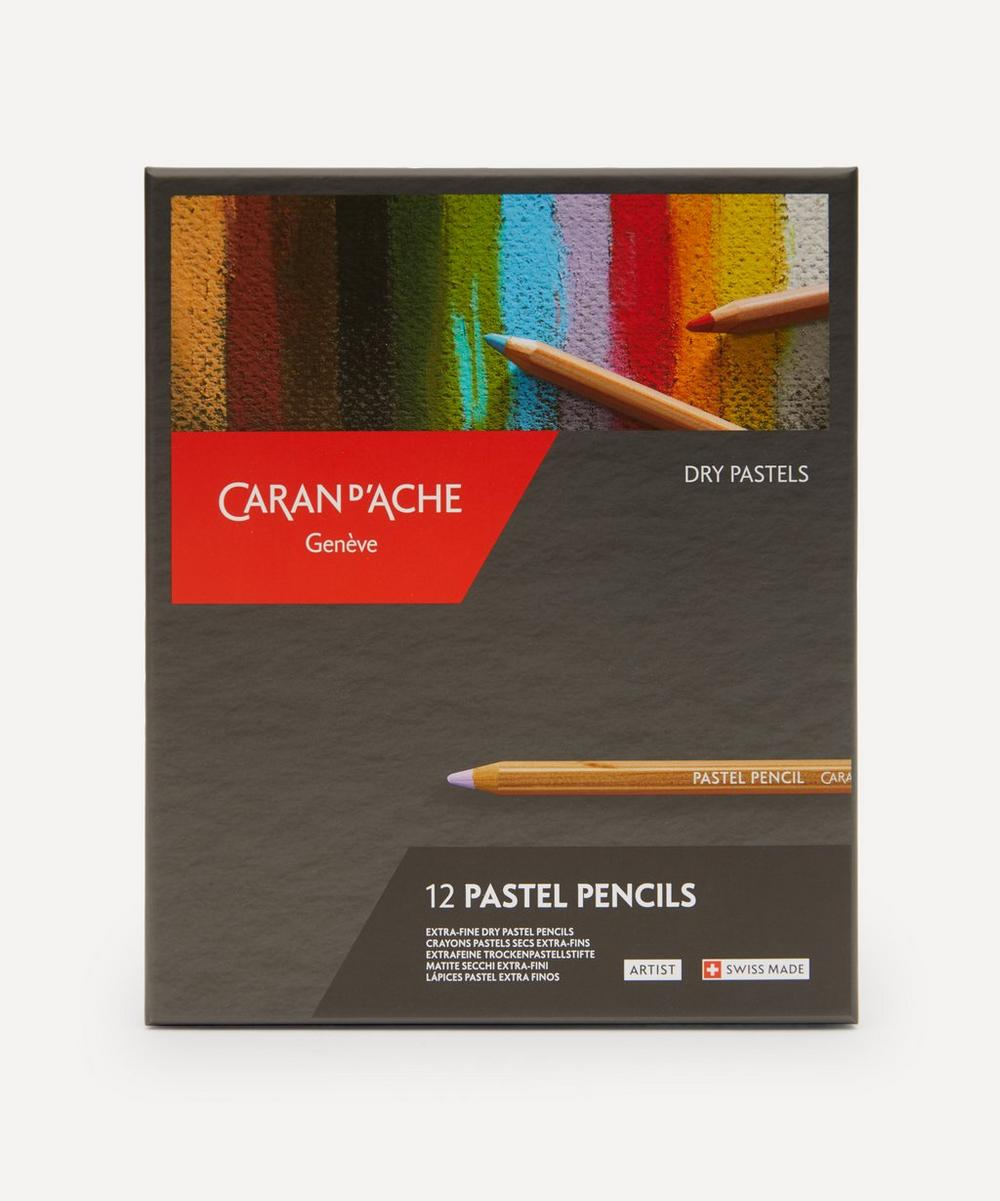Caran d'Ache - Pastel Coloured Pencils Box of 12