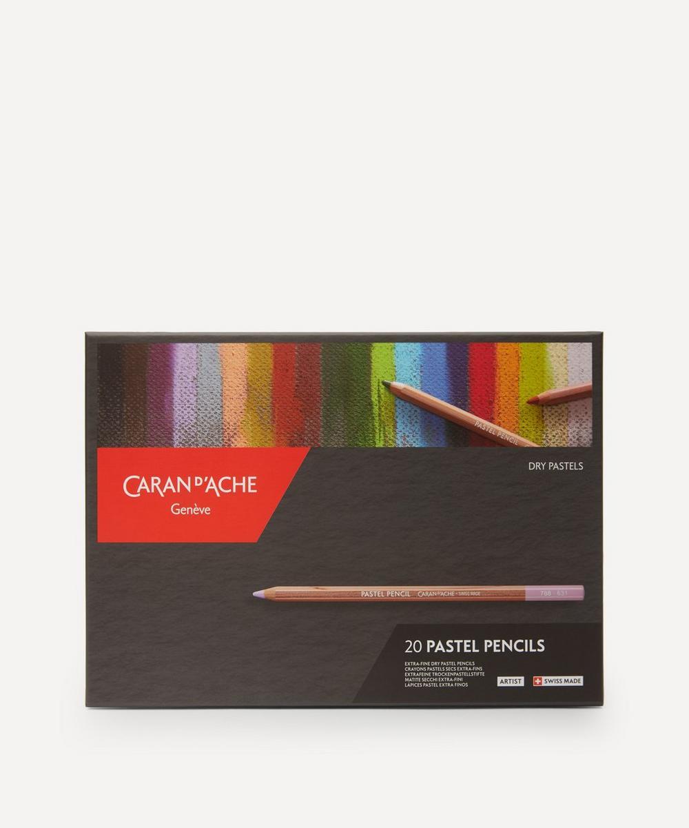 Caran d'Ache - Pastel Pencils Box of 20