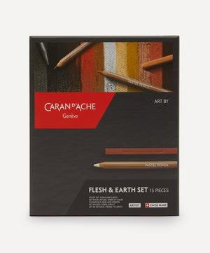Complete Flesh and Earth Sketching Set