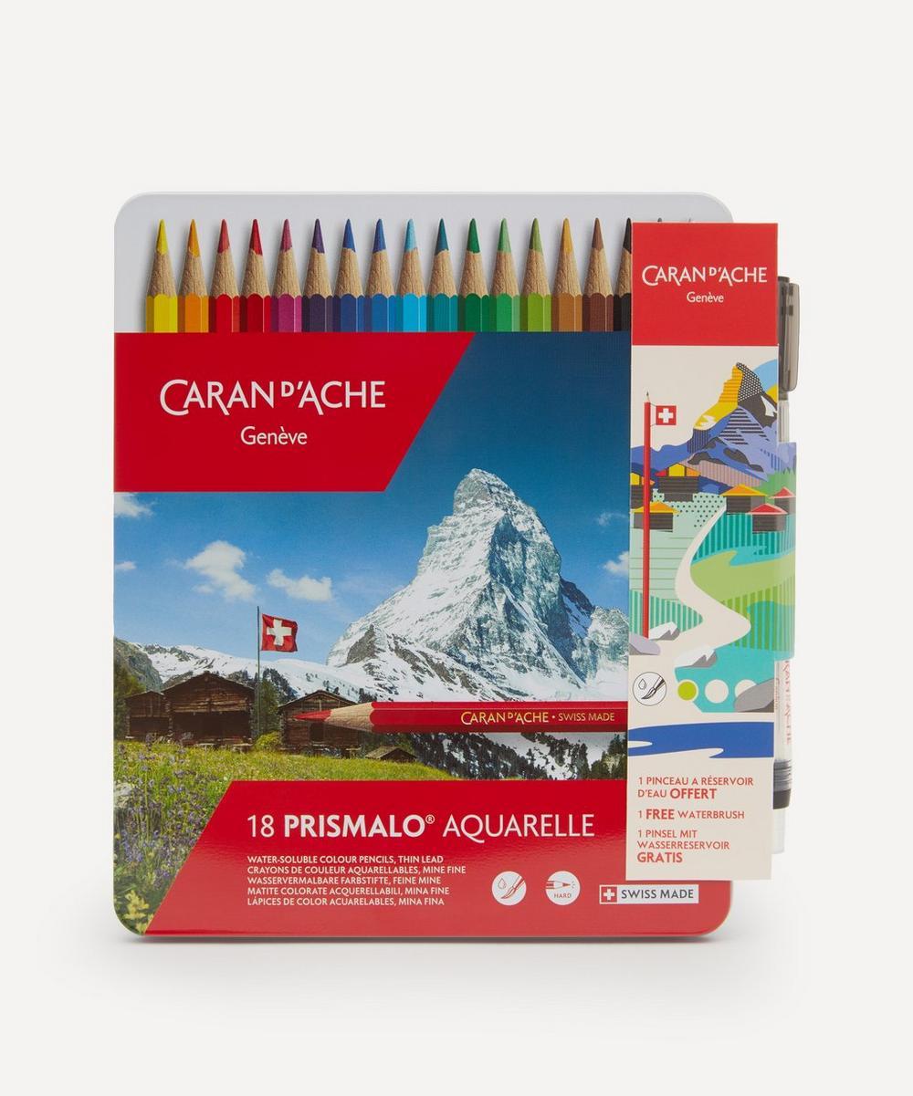 Caran d'Ache - PRISMALO® Coloured Pencils Set of 18