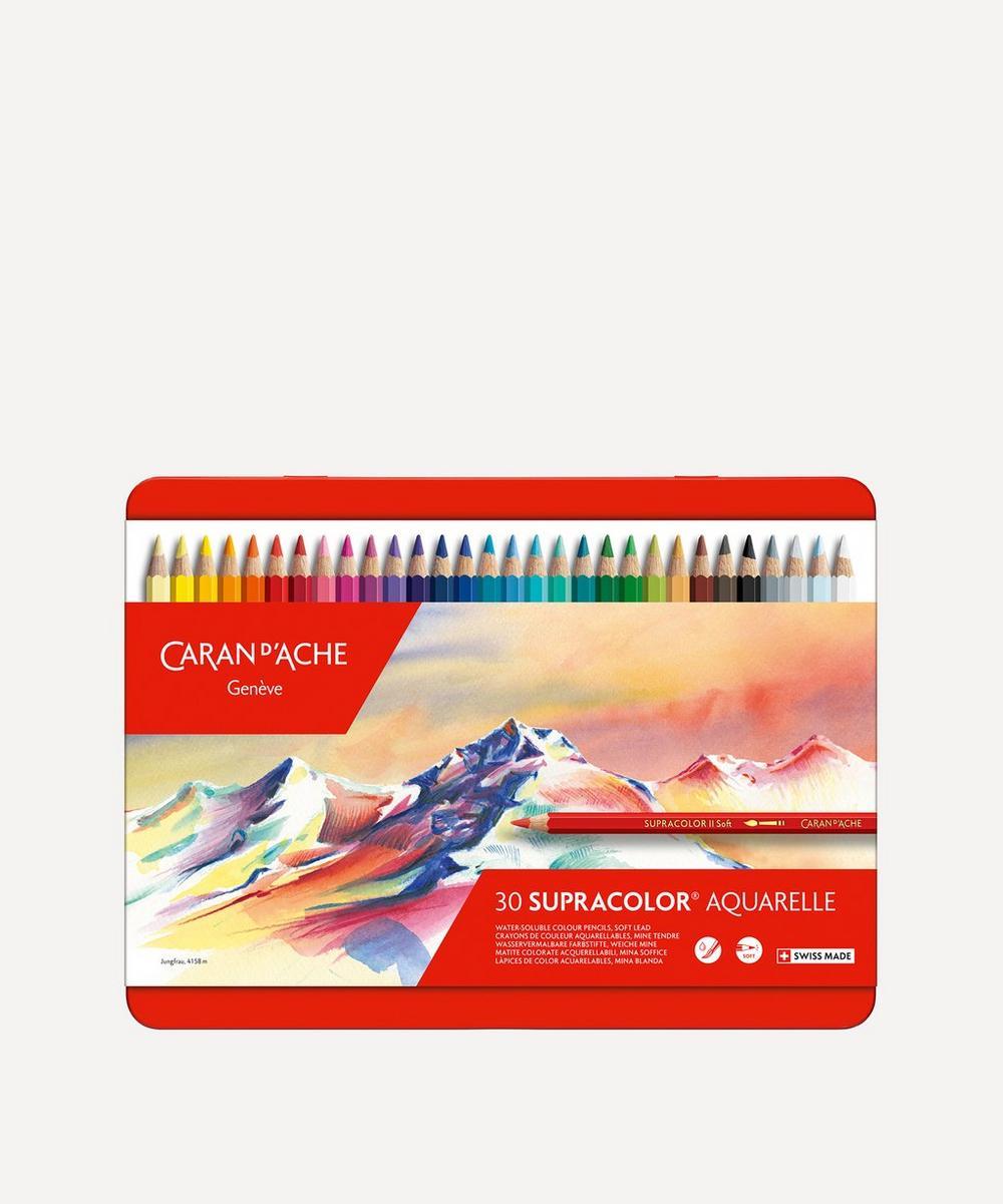 Caran d'Ache - SUPRACOLOR® Coloured Pencils Set of 30
