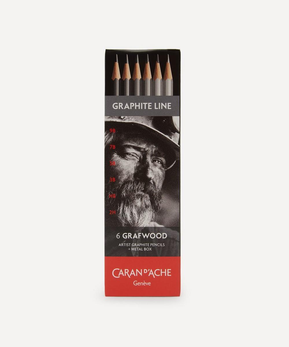 Caran d'Ache - Graphite Line Pencils Box of Six