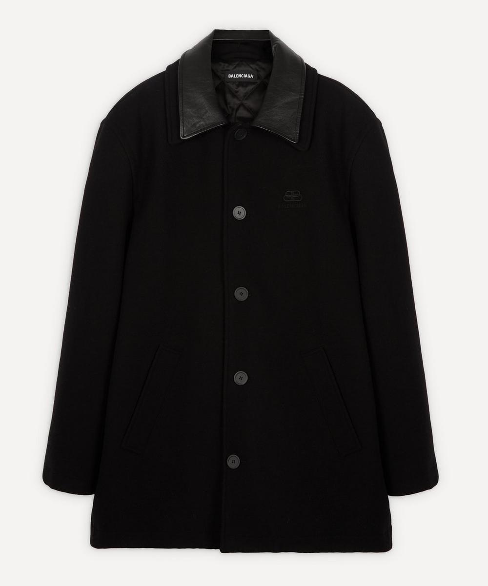 Balenciaga - Double-Collar Wool-Blend Jacket