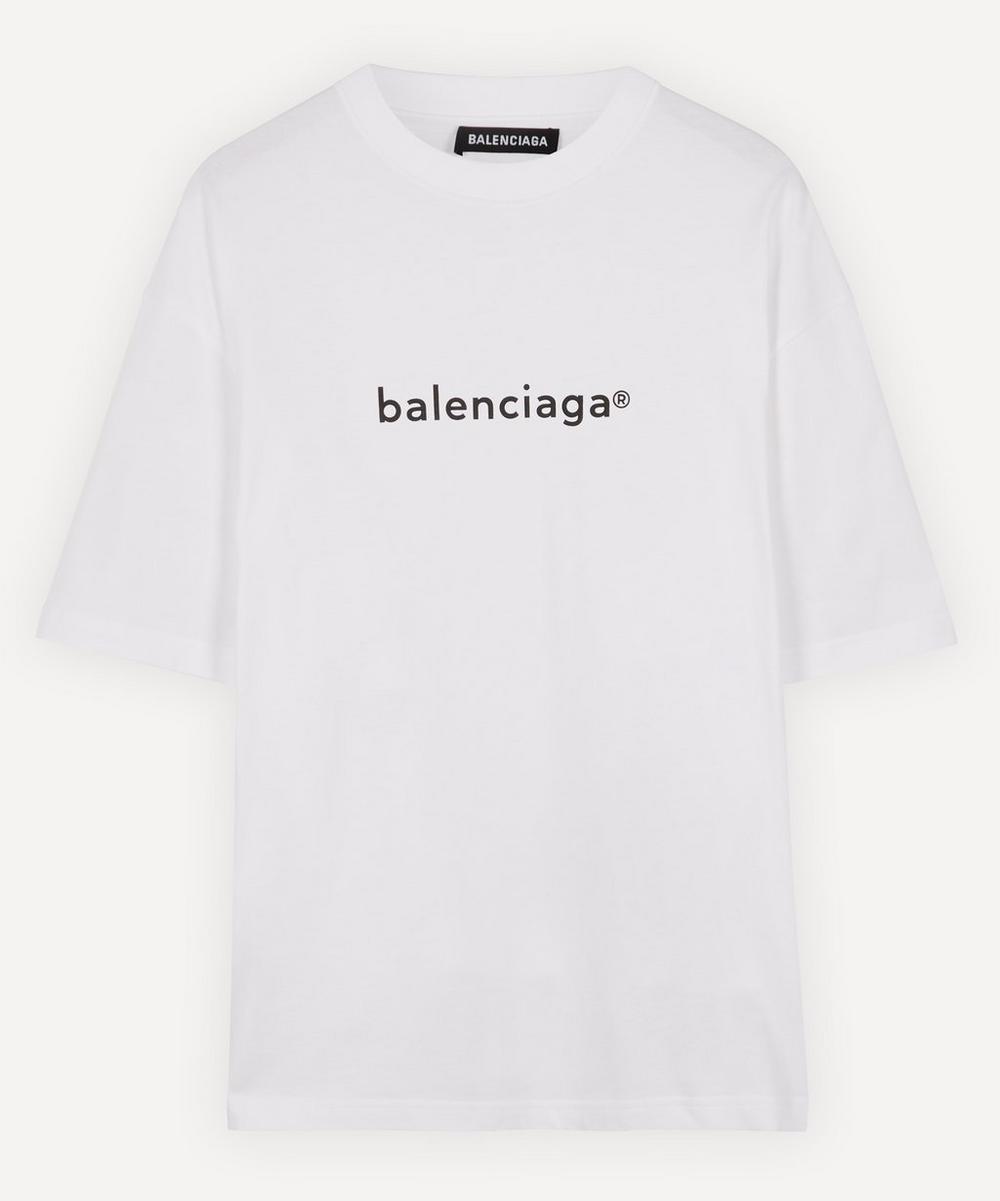 Balenciaga - New Copyright Cotton Logo T-Shirt