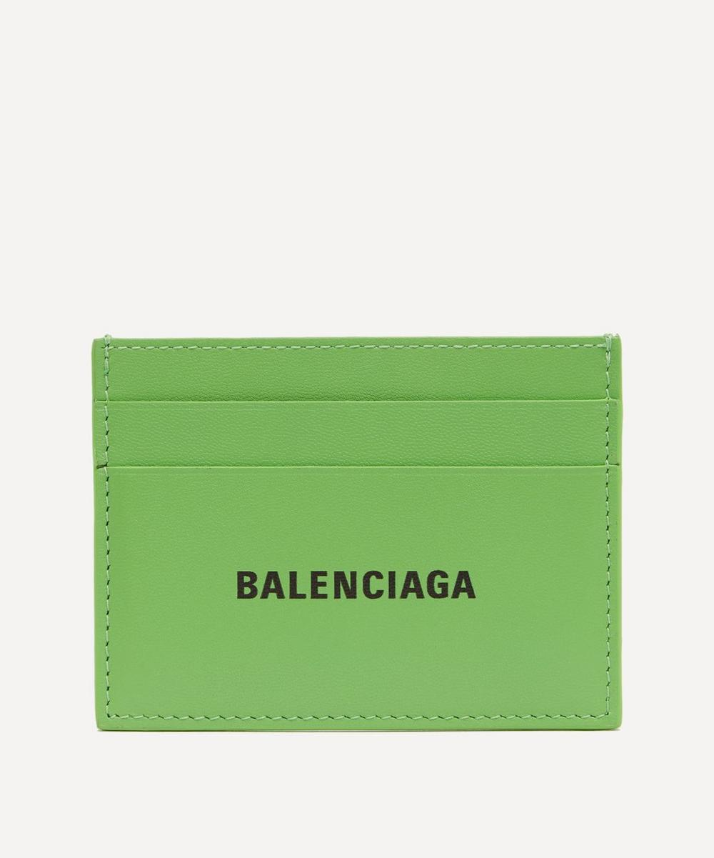 Balenciaga - Leather Logo Card Holder