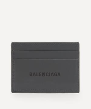 Leather Logo Card Holder