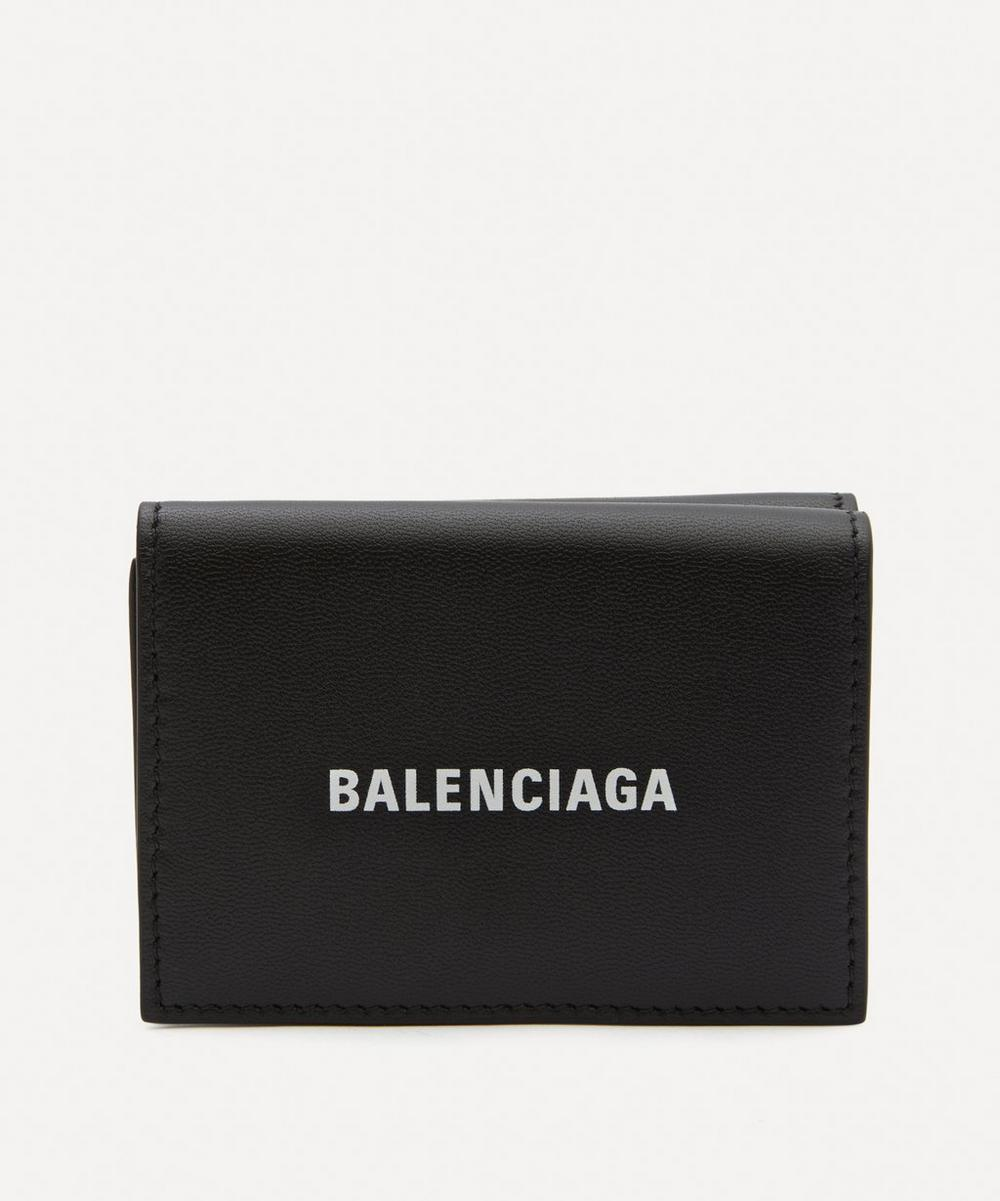 Balenciaga - Mini Leather Cash Wallet