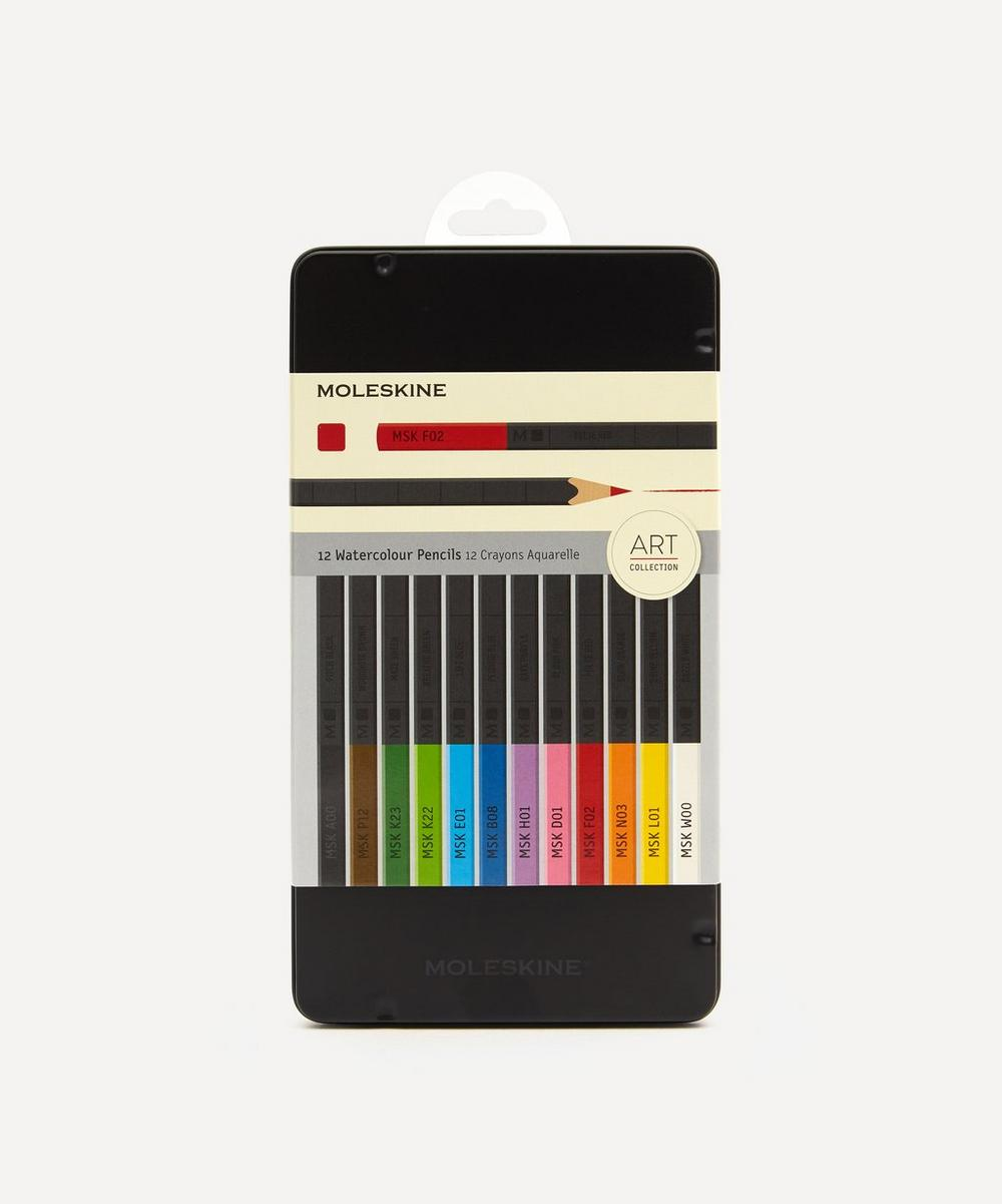 Moleskine - Naturally Smart Watercolour Pencils Set of 12 image number 0