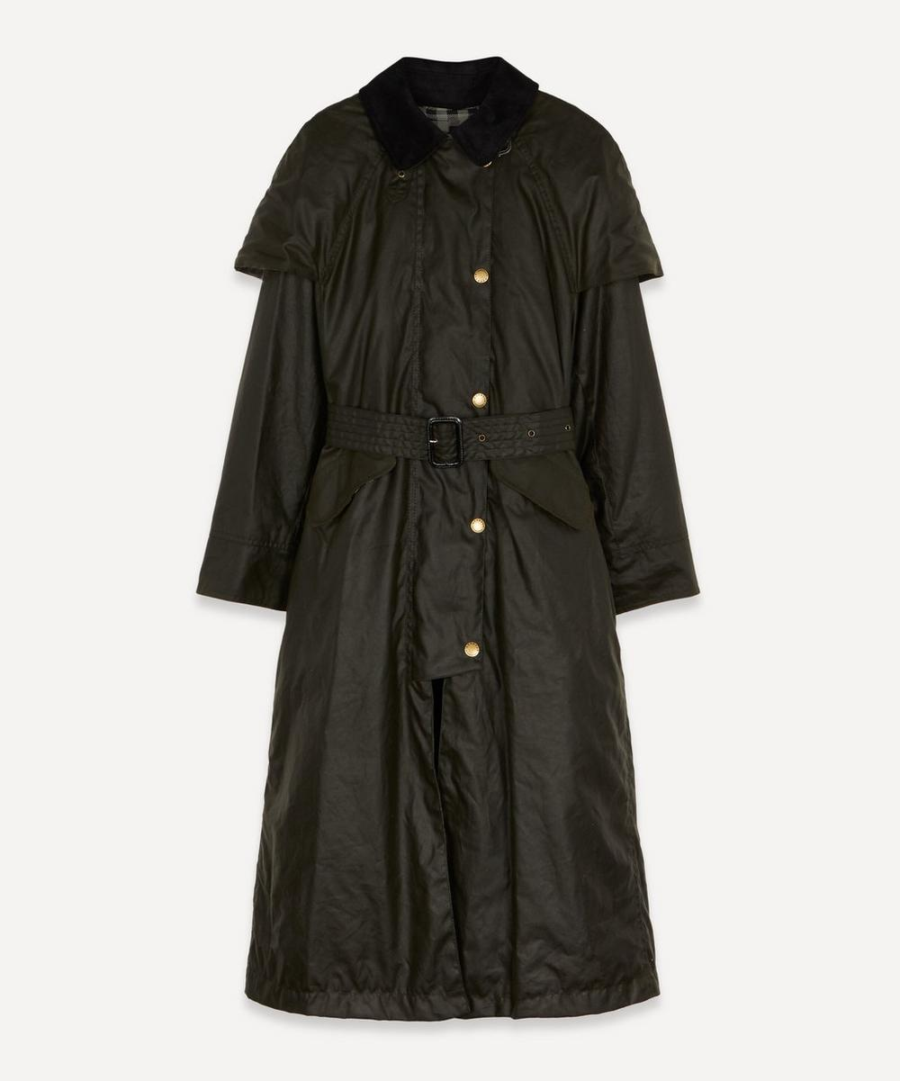 Barbour - x ALEXACHUNG Trudie Belted Wax Coat