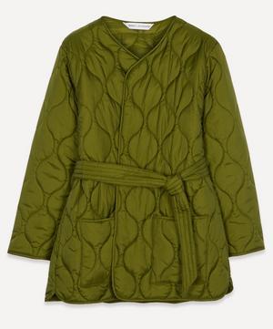 x ALEXACHUNG Martha Onion Quilted Jacket