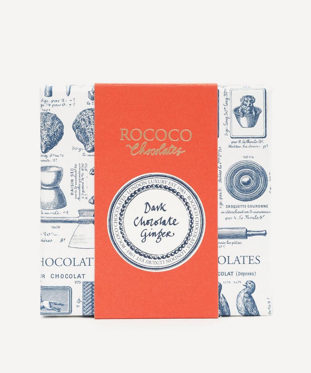 Rococo - Dark Chocolate Ginger 110g