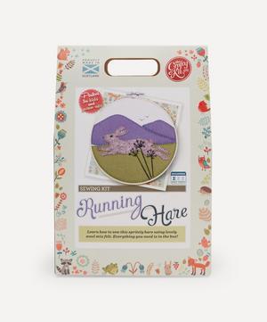 Running Hare Felt Appliqué Kit