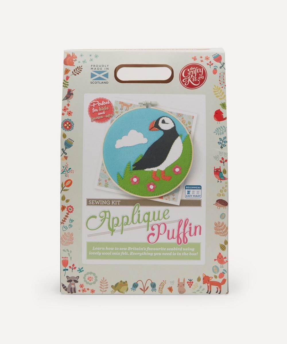 The Crafty Kit Company - Puffin Felt Appliqué Kit