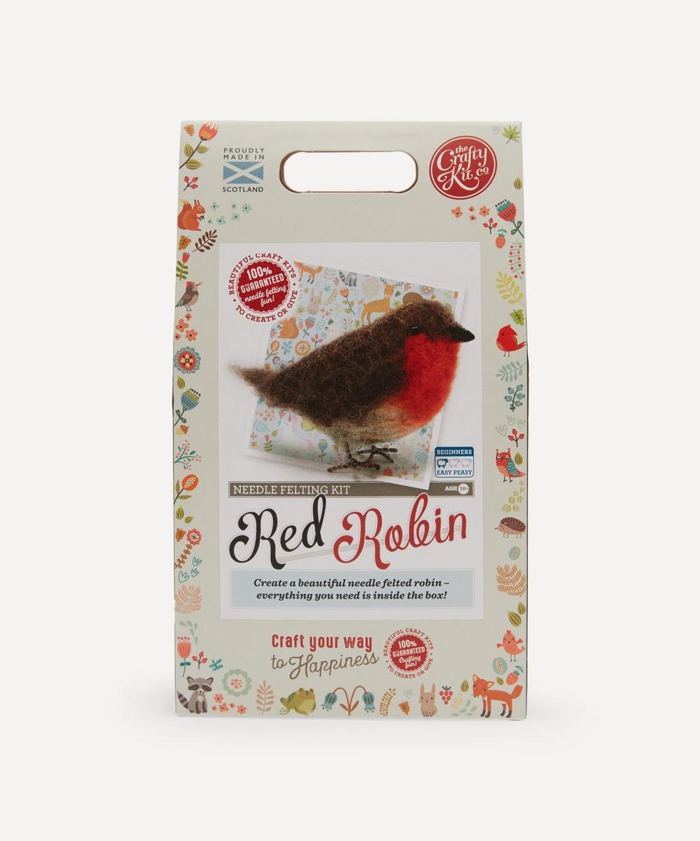 The Crafty Kit Company - Robin Needle Felting Kit