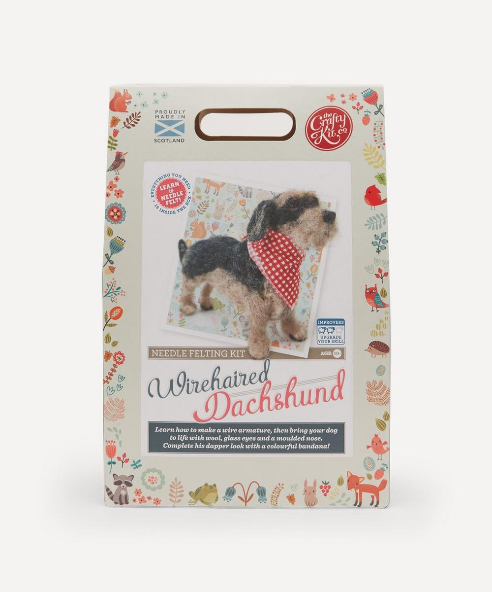 The Crafty Kit Company - Dachshund Needle Felting Kit