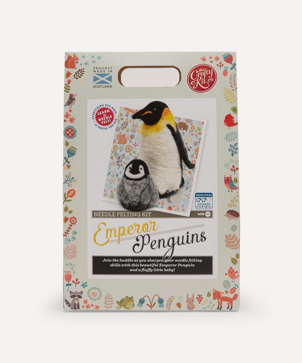 The Crafty Kit Company - Penguin Needle Felting Kit