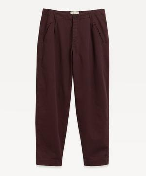 Assembly Brushed Cotton Trousers