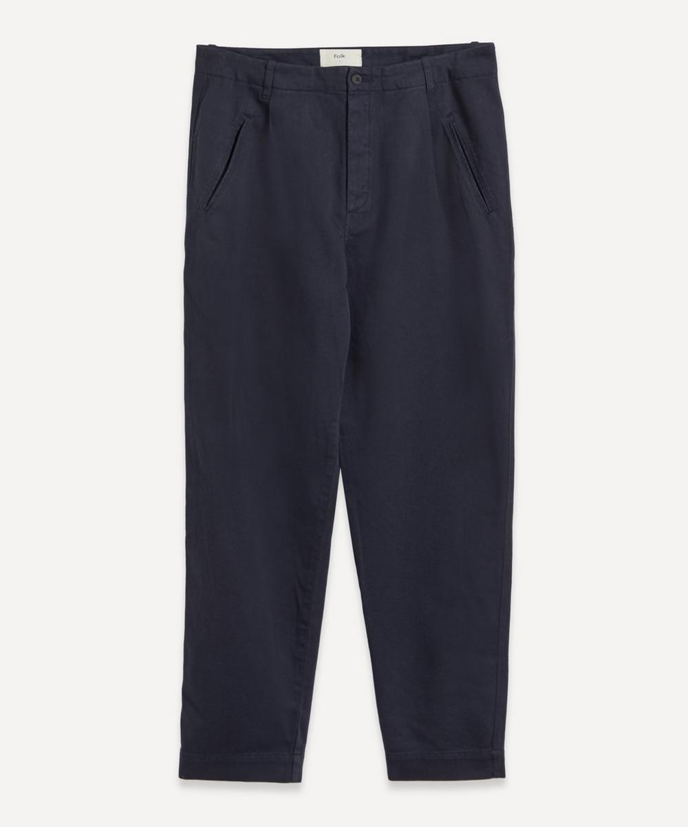Folk - Assembly Brushed Cotton Trousers