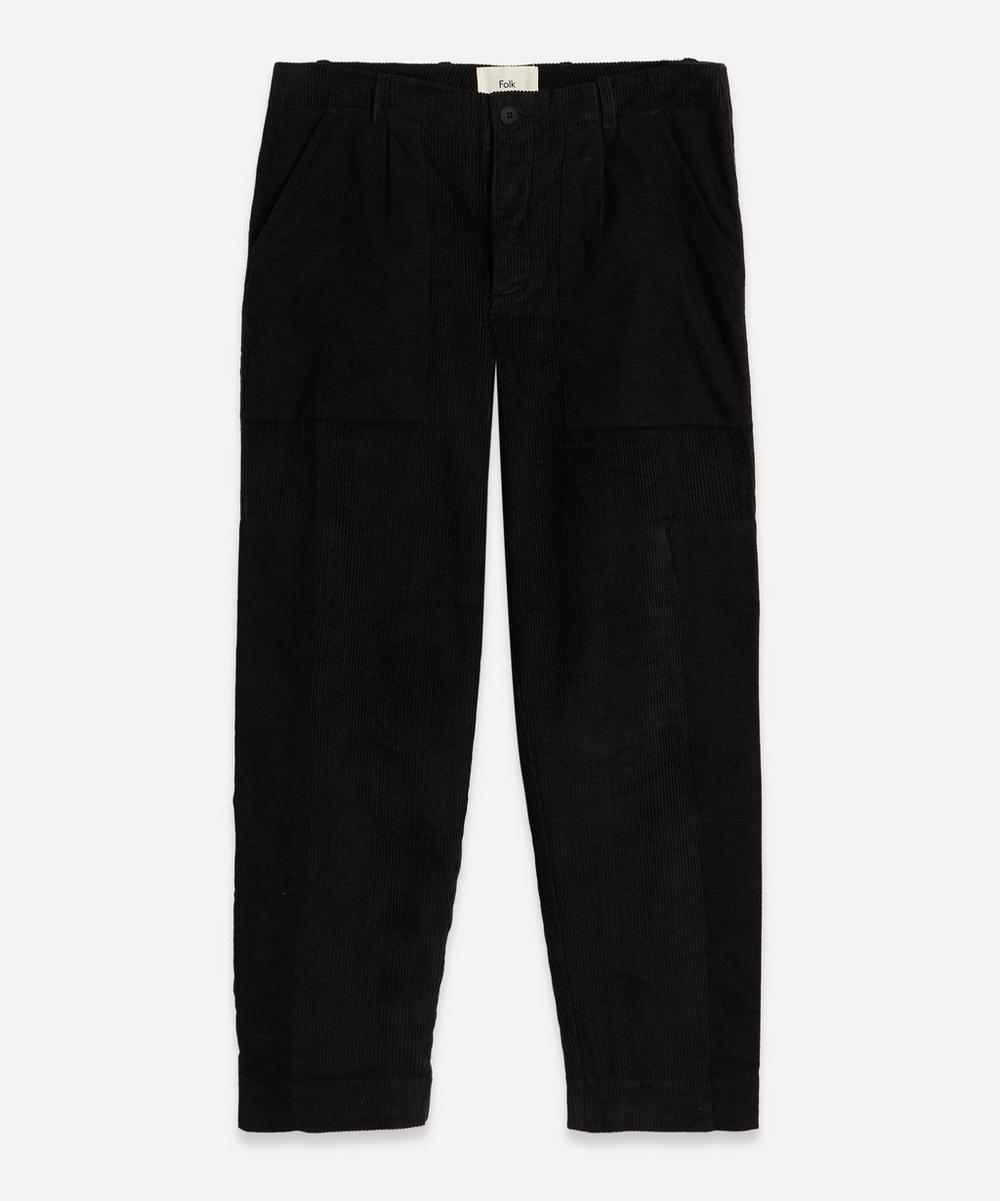 Folk - Fracture Patchwork Cord Trousers