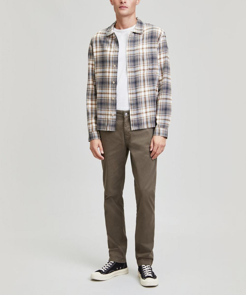 Folk - Flannel Patch Pocket Shirt