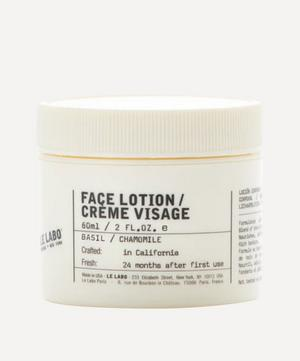 Basil Face Lotion 60ml