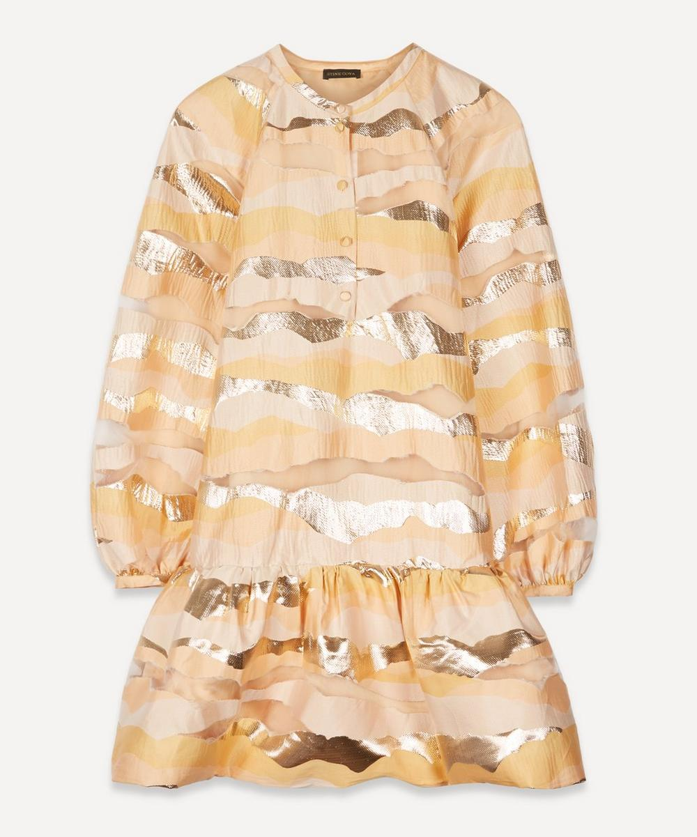 Stine Goya - Josefine Printed Organza Mini-Dress