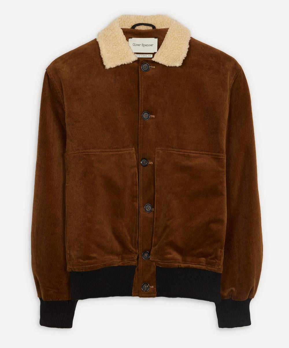 Oliver Spencer - Linfield Corduroy Bomber Jacket