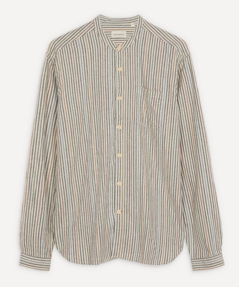 Oliver Spencer - Grandad Stripe Shirt