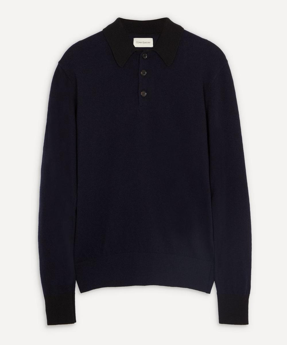 Oliver Spencer - Pablo Knit Polo Shirt