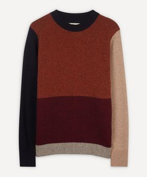 Blenheim Colour-Block Knit Jumper