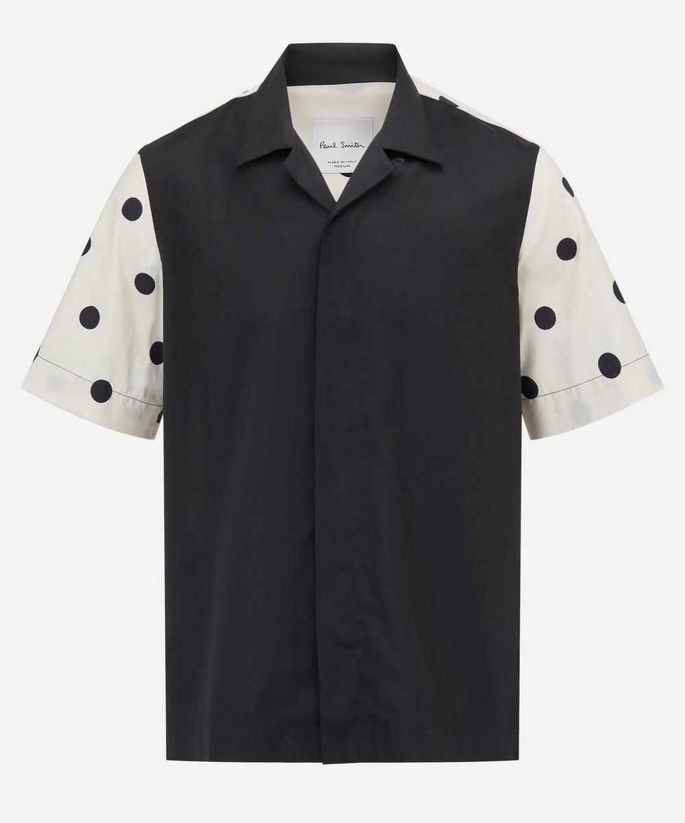 Paul Smith - Open Collar Polka-Dot Shirt