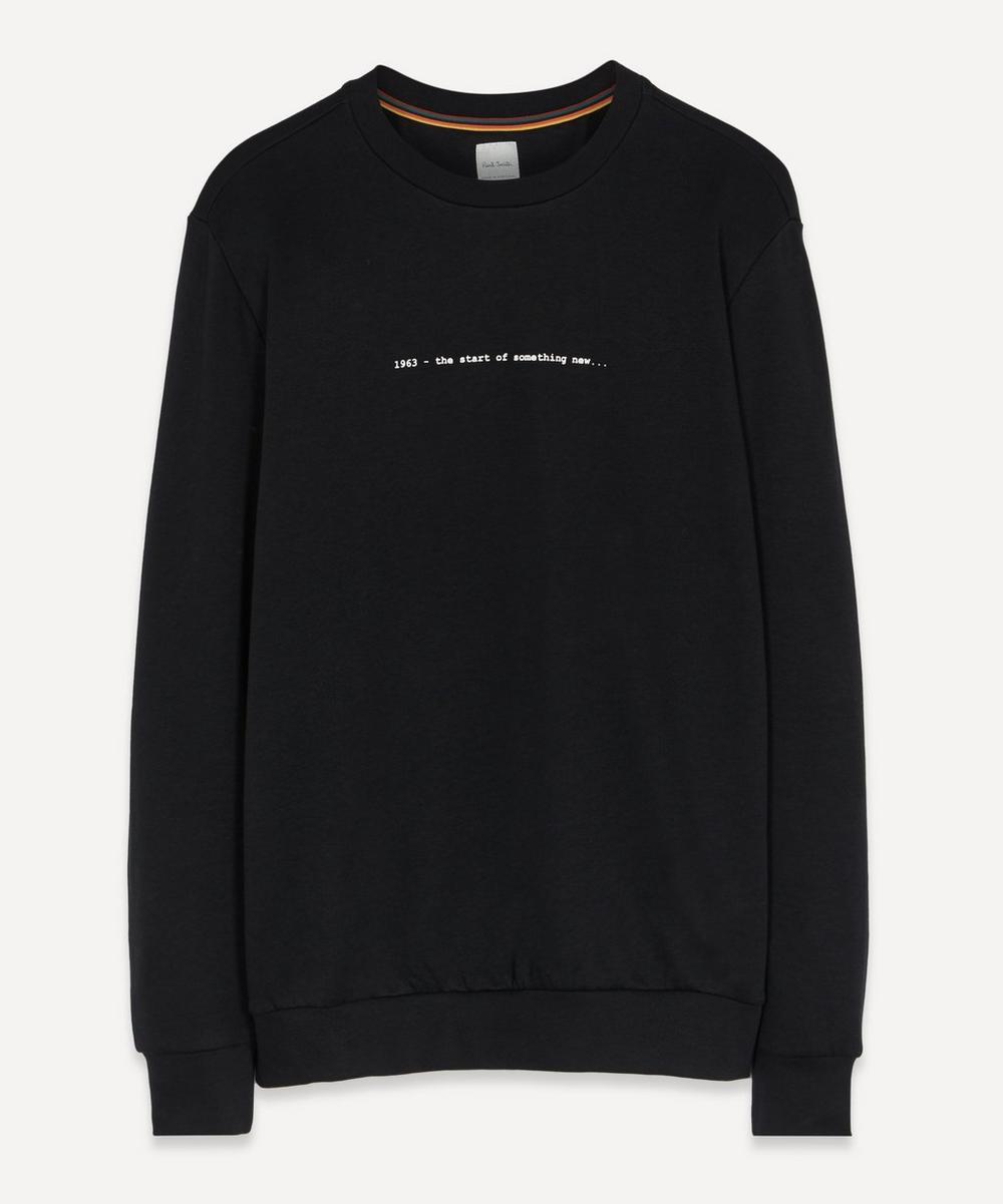 Paul Smith - Bike Embroidered Sweatshirt