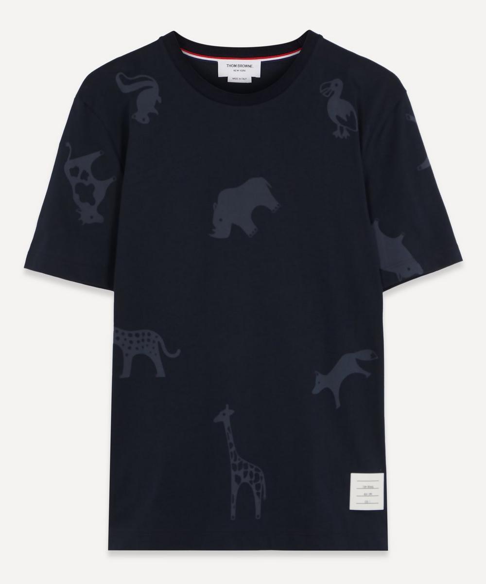 Thom Browne - Animal Print T-Shirt