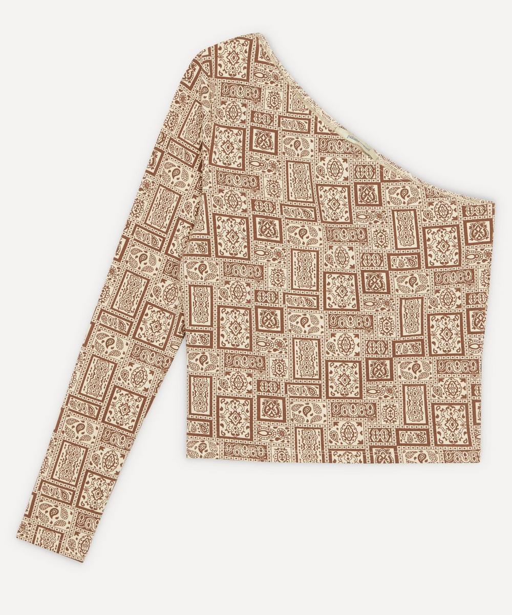 Paloma Wool - Tupac Paisley Print One Shoulder Top