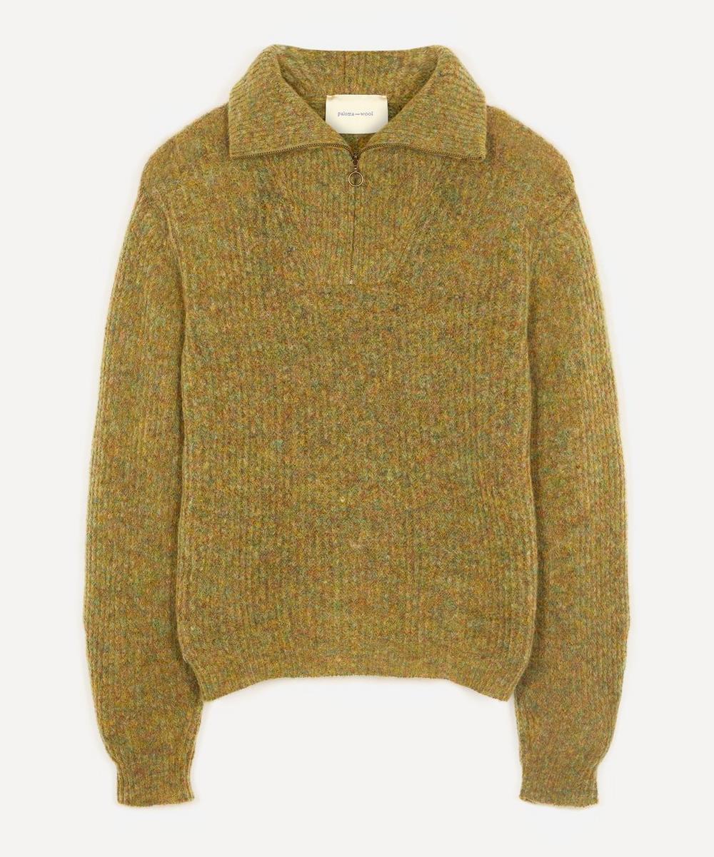 Paloma Wool - Cero Unisex Zip-Up Knit Sweater