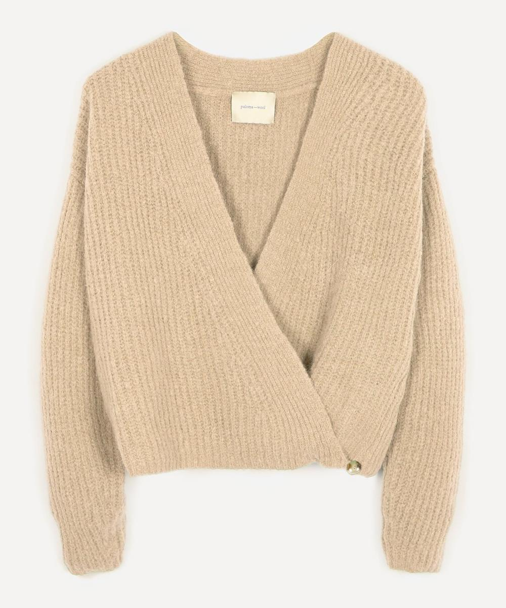 Paloma Wool - Sanz Wool-Blend Cross-Over Jumper