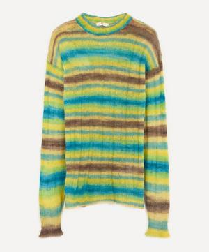 Pisco Striped Crew-Neck Jumper